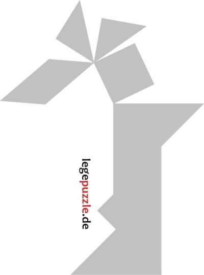 tangram vorlage indianer 13