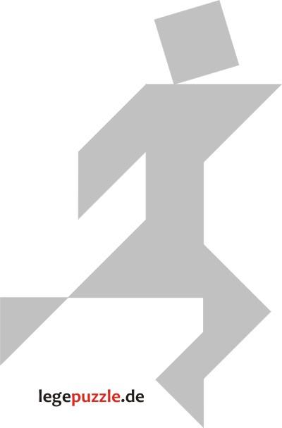 tangram vorlage läufer 6