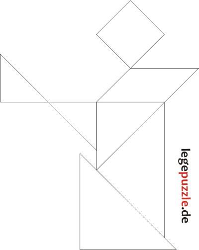 tangram lösung lesender mensch 2