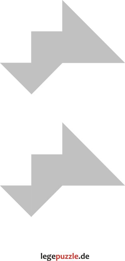 tangram vorlagen zwillinge